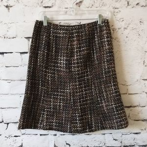 Donna Gray Tweed Skirt 6